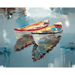 Le barche riflettono