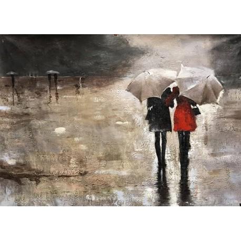 Quand il pleut a Rome.