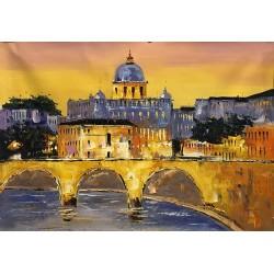 le couchee du soleil au Vatican